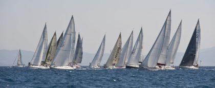 Гоночный флот регаты Rodos Cup