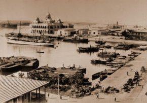 Конец 19 века, Порт-саид