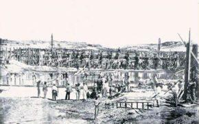 Рабочие на Суэцком канале