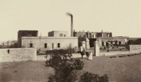 Завод в Исмаилии. Для строительства и обслуживания Суэцкого канала было построено много инфраструктурных и промышленных объектов