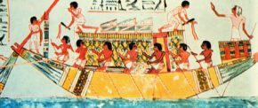 Торговая экспедиция, Египет