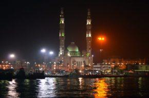 Ночной Порт-Саид. Наши дни