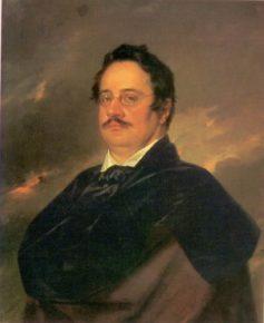Раевский в 1842, работа Тропинина