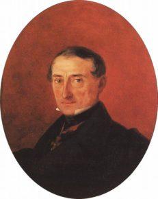 Портрет Казначеева работы Айвазоаского
