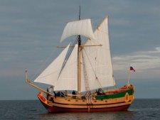 Парусник Либава — точная копия парусного корабля 17 века