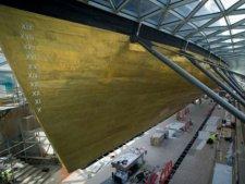 Клипер «Катти Сарк» открылся после 5 летнего ремонта