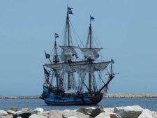 «Кальмар Нюкель» и «Фогель Грин» — корабли первых шведских переселенцев