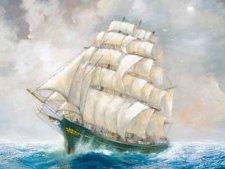 «Фермопилы» самый быстрый парусный корабль в истории