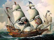 Галеон «Сан-Мартин» — флагман Непобедимой Армады