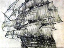 «Сантисима Тринидад» самый большой парусный корабль в истории