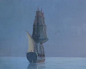 картина из экспозиции Паруса Петровы