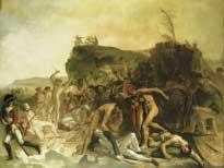смерть Джеймса Кука в третьей экспедиции