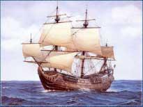 корабль Мейфлауэр