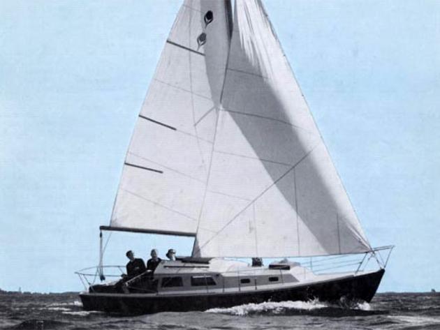 Contest 25 - c этой яхты все начиналось.