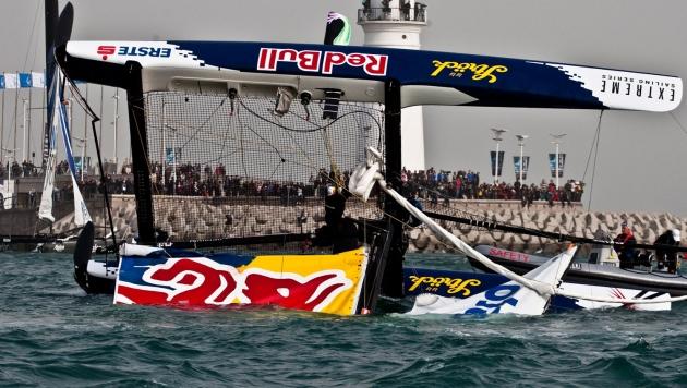 """Резвость команды """"Red Bull"""" иногда выходит им боком."""