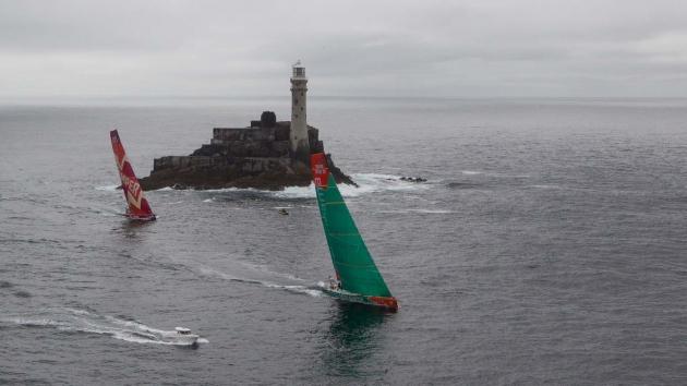 Fastnet Rock использовали как курсовую метку в Volvo Ocean Race.