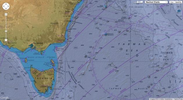 Так выглядит карта регаты настоящего яхтсмена.