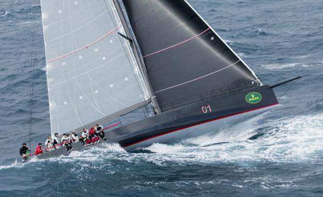 Волны в Бассовом проливе с легкостью играют даже большими, 30-метровыми яхтами.