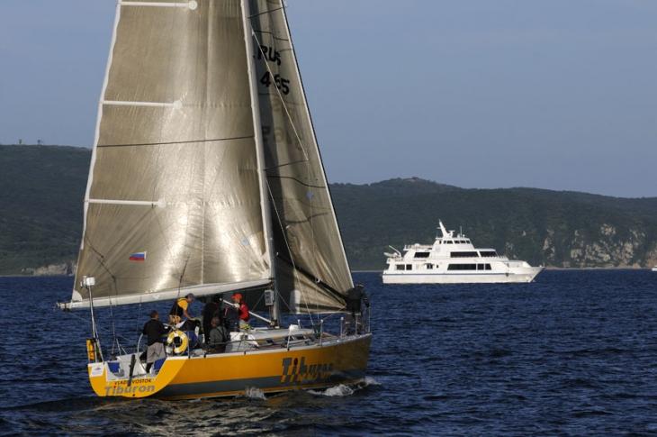 Яхта «Tiburon», Кубок залива Петра Великого
