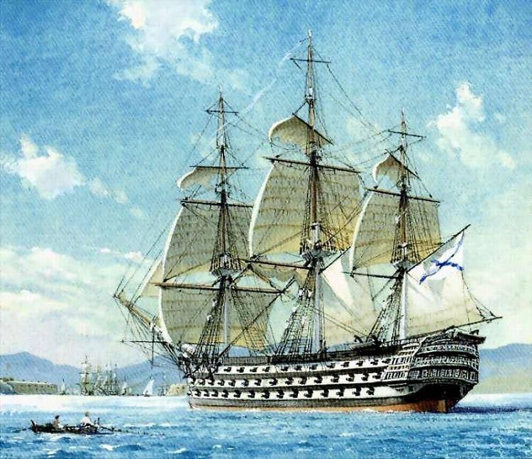 Картины военные корабли
