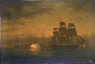 Массовый мятеж военных кораблей в Норе