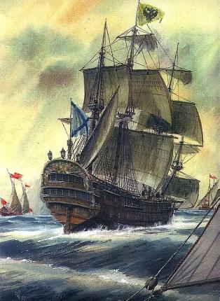 Парусник Ингерманланд Балтийского флота