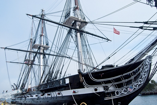 Корабль Old Ironsides