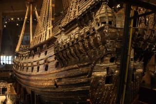 Корабль Ваза в музее