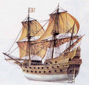Флагман Испанской Непобедимой Армады Сан-Мартин