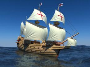 Флагман Испанской Непобедимой Армады San-Martin