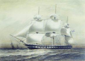 Фрегат Паллада, 1832 год