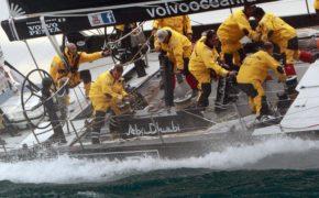 Яхта для регаты Volvo Ocean Race быстра и сложна в управлении