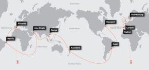 Маршрут регаты Volvo Ocean Race 2014-15