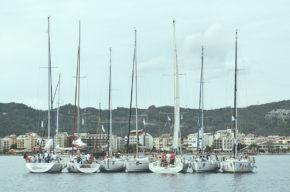 Регата Marmaris Race Week. Такие импровизированные островки - лучший способ познакомиться