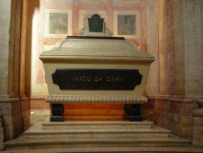 Кенотаф Васко да Гамы в национальном пантеоне Португалии