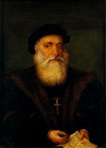 Васко да Гама, картина Г. Лопеса, 1524 г.