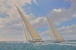 Картина яхт J-class