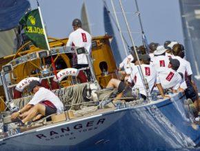 Яхта Ranger представляет J-class на Maxi Yacht Rolex Cup