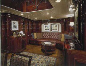 Внутренняя отделка яхты Ranger