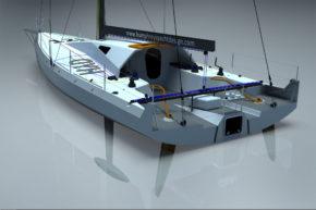 Парусная яхта Class 40 стоит около 200 000 евро
