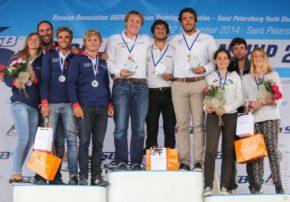 Победители Чемпионата Мира 2014 в классе SB 20