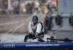 На самом деле яхтсмены вовсе не такие свирепые, какими кажутся, просто гонка требует нешуточной концентрации. Катамараны Extreme 40