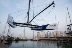 Еxtreme 40 очень легко перевозить, особенно по сравнению с другими яхтами