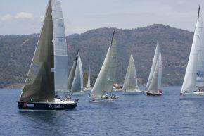 С каждым годом в Gocek Race Week все больше участников