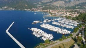 Регата Gocek Race Week. Марина Гёчека -