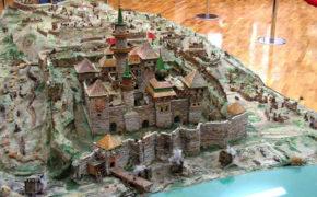 Фрагмент макета крепости Азов
