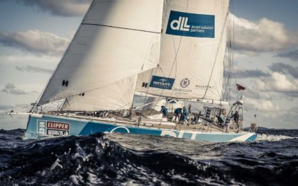 Яхта-участник Clipper Round the World Yacht Race 13/14