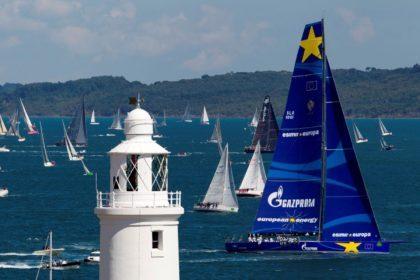 На дистанции Rolex Fastnet Race можно встретить самые разные яхты
