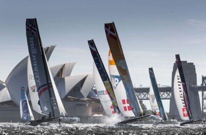 Сиднейский этап EXtreme Sailing Series
