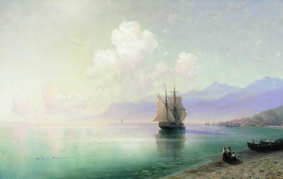 Картина Айвазовского Штиль, 1885 год